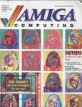 Cover of old Amiga Computing